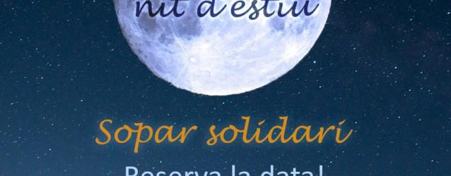 Sopar solidari d'Oncolliga 2017, reserva la data!