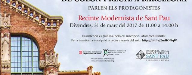 Jornada per la Prevenció del càncer de còlon i recte al Recinte Modernista de Sant Pau