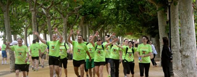 Marxa Solidària pel Càncer a Calella