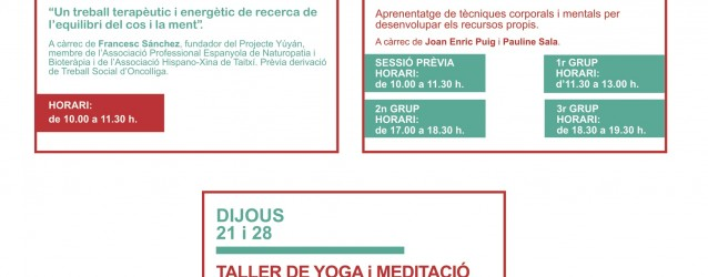 Activitats Vallès – Setembre 2017