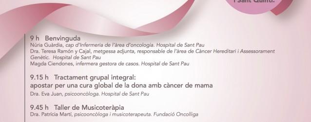Jornada per a vosaltres, homenatge a les dones afectades de càncer de mama