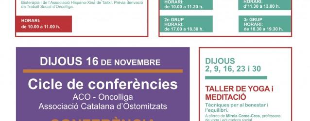 Activitats Vallès – Novembre 2017