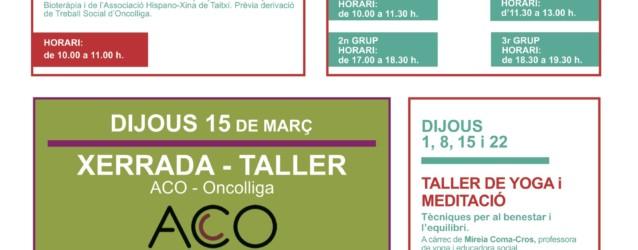 Activitats Vallès – Març 2018