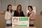 Condis entrega el txec amb 82.833 € de la campanya solidària #PebrotsCàncer