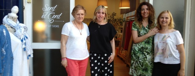 Venda de roba solidària a Sabadell