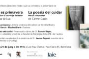 """Presentació dels llibres """"Hoy es primavera"""" i """"La poesia del cuidar"""" a la llibreria Laie"""