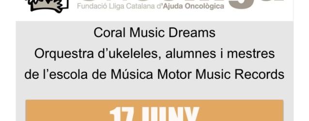 La Coral Music Dreams ofereix un concert solidari en benefici d'Oncolliga