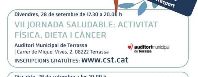 VII Jornada Saludable: Activitat física, dieta i càncer