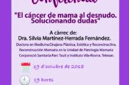 """Conferència: """"El cáncer de mama al desnudo. Solucionando dudas"""""""