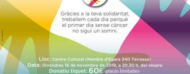 XXVI edició Sopar Solidari Contra el Càncer de Terrassa