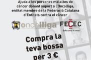 """Oncolliga, entitat beneficiària de la campanya bossa solidària """"El comerç de Gràcia amb la Marató TV3"""""""