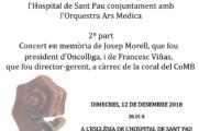 Concert de Nadal en memòria de Josep Morell i Francesc Viñas