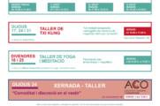 Activitats Vallès – Gener 2019