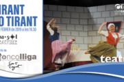 """Obra de teatre """"Tirant lo tirant"""" a Sant Cugat"""