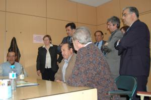 Visita de Sr. J.Puigcercós al CRL Terrasa 2006_1